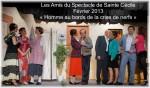 HOMME AU BORDS DE LA CRISE DE NERF